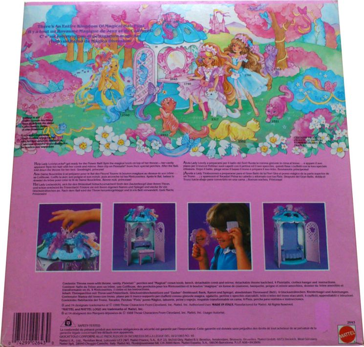 Beauty Magic Throne (back)