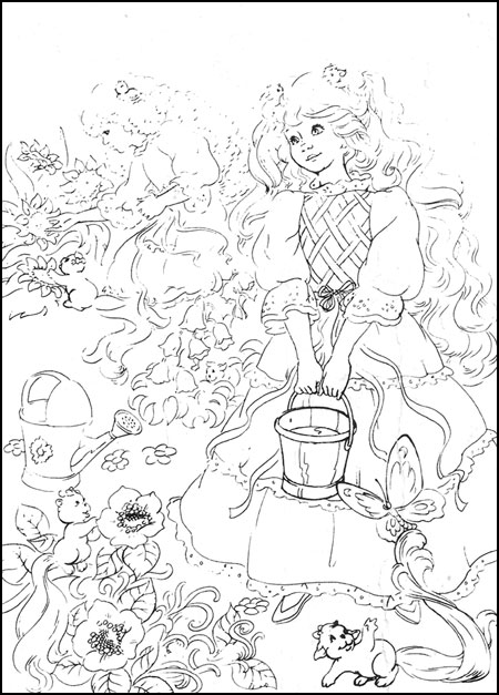 shirt tales coloring pages - photo#7