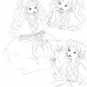 Manon: Lady LovelyLocks sketches