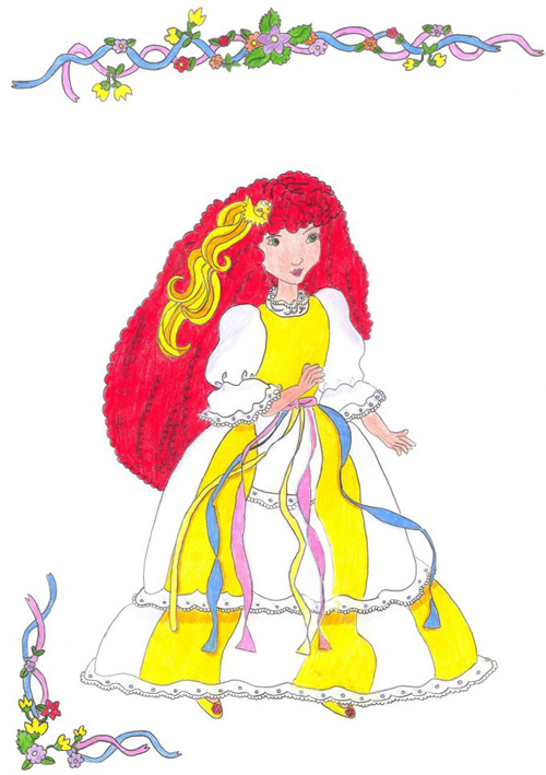 Alarda: Maiden CurlyCrown