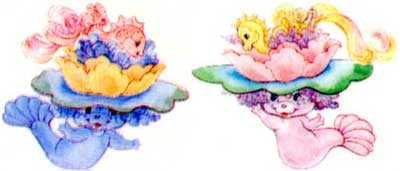 Lilisplash and Lilybubble