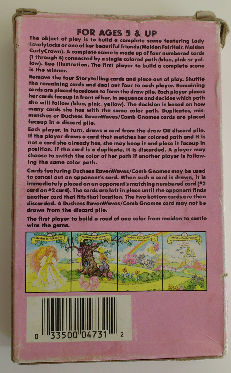Giant Card Game (back)